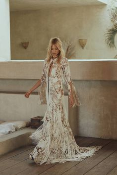 Rue de Seine: Love Spell Bohemian Bridal Collection via Truly and Madly