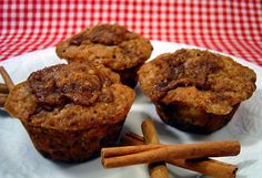 Make and share this Crumb Topped Banana Muffins recipe from Food.com.