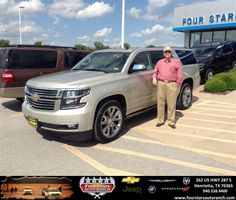 Congratulations to Frank South It on your #Chevrolet #Suburban purchase from Dewayne Aylor at Four Stars Auto Ranch! #NewCar