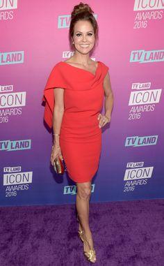 Brooke Burke-Charvet from TV Land Icon Awards 2016 Red Carpet Arrivals   E! Online