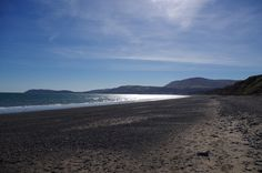 Ramsey Beach with Maughold Head & North Barrule