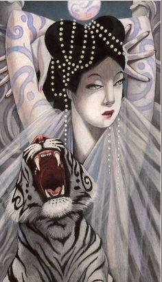By the artist ~ Winslow Pels. Japanese art.