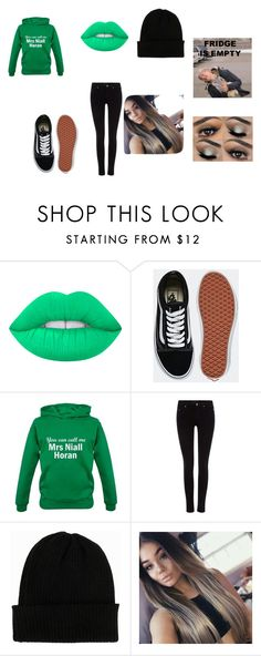 """""""lol"""" by royal727 on Polyvore featuring Lime Crime, Vans, Maison Scotch and NLY Accessories"""