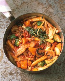 Something about Fall and a hearty stew, all I need is a crackling fire and a cozy blanket and I'm all set!