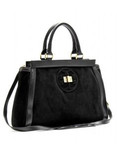 Tory Burch Leather and Suede Tote. BaggageShoe BagTory BurchTotesBagsShoe HandbagsTote Bag d0511d18372e2