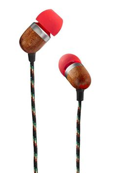 House of Marley Microphone Earbuds, $49.99. I just bought these, so hopefully they're worth the money!