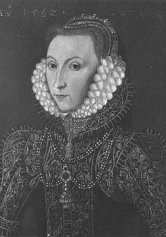 Lady Catherine Grey, sister of Jane Grey, graddaughter of Princess Mary Tudor…