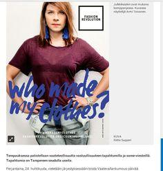 Juttu Tamperelaisessa 23.4.2015.
