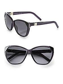 31017b2e324 Chloé - Capucine Tip Cat s-Eye Sunglasses Oversized Sunglasses