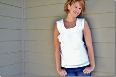 rounded ruffles top tutorial