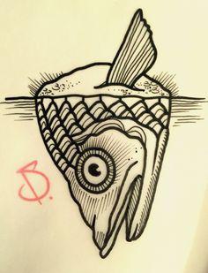 © SailorDave – 2015 | Fishing #tattoo #tattoos #ink #inked #tattooartist #artist #swissmade #swisstattoo #fish #fishing #rope #ocean #sailor #dave #sailordave