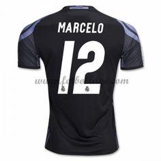 Fotbollströjor Real Madrid 2016-17 Marcelo 12 Tredjetröja