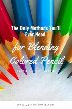 The Only Methods You'll Ever Need for Blending Colored Pencil - Carrie L. Lewis, Artist There are many ways of blending colored pencil, but they break down into three categories. Learn about those categories and how they can improve your work. Watercolor Pencils Techniques, Watercolor Pencil Art, Watercolor Tips, Watercolor Cards, Watercolor Painting, Colored Pencil Tutorial, Colored Pencil Techniques, Drawing Techniques Pencil, Pencil Drawing Tutorials