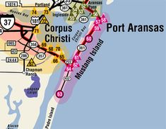 Corpus Christ, Port Aransas and Mustang Island...went to all on our December 2015 road trip to Texas ~slj~