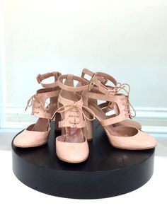 RedValentino LACE UP PUMP | Buy ➜ http://shoespost.com/redvalentino-lace-up-pump/