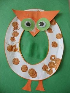 Owl craft -- Owl for O