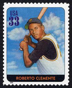 33c Roberto Clemente single, 2000
