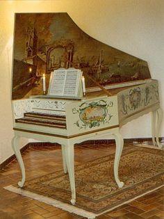 clavecin français Goujon Swanen 1749
