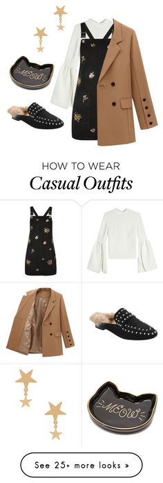 """Untitled #425"" by bhgrace on Polyvore featuring Rejina Pyo, Topshop and Amarilo"