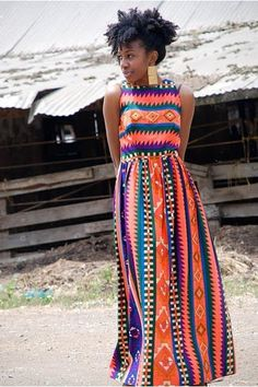 Kitenge :: this is literally the most beautiful dress I have ever seen
