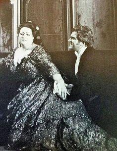 Montserrat Caballé & Nicolai Gedda in 'La traviata',Chicago,1970