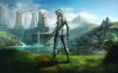 This HD wallpaper is about female anime character illustration, futuristic, digital art, Original wallpaper dimensions is file size is Future Wallpaper, Girl Wallpaper, Fantasy Girl, Art Science Fiction, Non Fiction, Sci Fi Kunst, Canada Images, Sci Fi Characters, Female Anime
