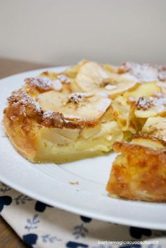torta di mele di Bolzano - poco impasto e molte mele