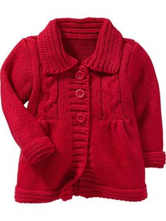 Cable-Knit Sweater Cardis for Baby Product Image