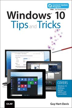 Windows 10 Tips and Tricks (includes Content Update Program) (eBook)