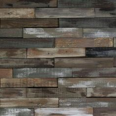 Nuvelle Deco Planks Weathered Gray 1/2 in. Thick x 2 in. Wide x 12 in. Length Solid Hardwood Wall Planks (10 sq. ft. / case)-NV2DP - The Home Depot