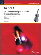 Charles Dancla - 36 Melodious and Easy Studies, Op. 84 (Softcover)