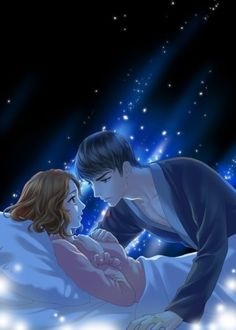 Here you will find the best Love Talk. Anime Couples Sleeping, Romantic Anime Couples, Cute Cartoon Pictures, Cartoon Profile Pictures, Manga Couple, Anime Love Couple, Sailor Moon Background, Anime Love Story, Sleeping Drawing