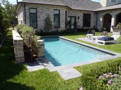 small backyard pool..we've often talked about something small and simple