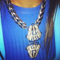 Shiona Turini's Fenton Fallon necklace