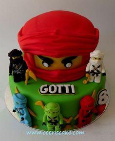 Bildergebnis für ninjago torte