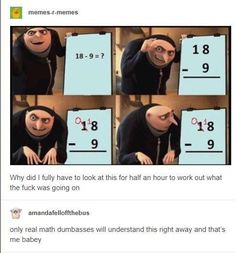 Ideas funny memes for kids lol awesome Stupid Funny Memes, Funny Relatable Memes, Funny Posts, The Funny, Funny Quotes, Hilarious, Funny Stuff, Math Memes Funny, Bi Memes