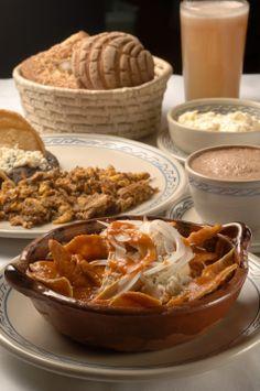 Desayuno en El Cardenal, Restaurante en #Mexico DF
