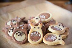 Des biscuits Totoro !!!