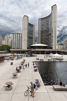 Toronto. The new City Hall.