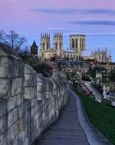 Twilight at York Minster, North Yorkshire