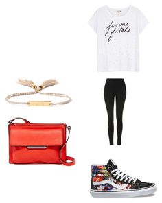 """Untitled #2512"" by angfra ❤ liked on Polyvore featuring Chloé, Sundry, Topshop, Vans and French Connection"