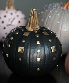 chic, no-carve pumpkin how-to