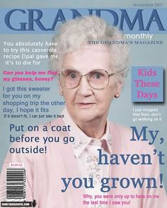 grandma magazine