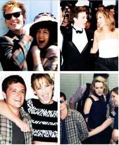 """""""It was good that Sam came along, we (Josh and Jennifer) got some space. Josh had a new best friend, I felt incredibly left out. But then Jena came along and everything worked out great."""" - Jennifer Lawrence"""