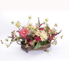 2196 Dahlia Floral Centerpiece 28x17