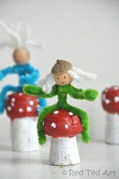 Fun fairy/elf craft idea
