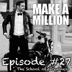 #LewisHowes delivers some great words in this podcast episode on How To Make A Million Dollars Online. Yet it's not even about that topic. It's bigger than just that topic. It's about BELIEVING IN YOUR PASSION and making it happen.
