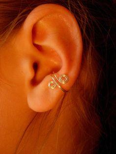 Set Of 3 Ear Cuffs, Antique Brass, .. on Luulla