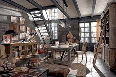 [Deco] Dialma Brown y su decoración vintage industrial | Decoración