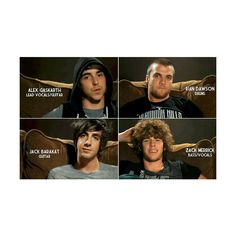 All Time Low ❤ ZACK'S CURLY AFRO I WANT IT BACK NOW